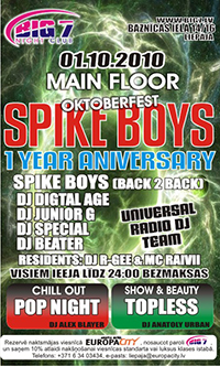 SPIKE BOYS 1 Year Anniversary poster small