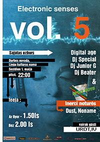 electronic senses vol. 5 poster small
