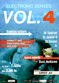electronic senses vol. 4 poster small